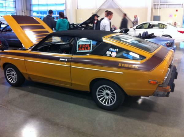 1973 datsun b210 hatchback