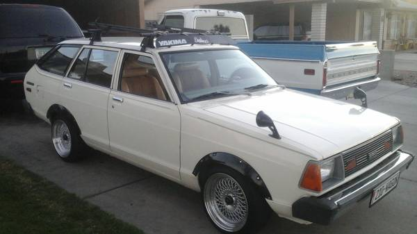 1981 Datsun B210 wagon For Sale in West Valley, California