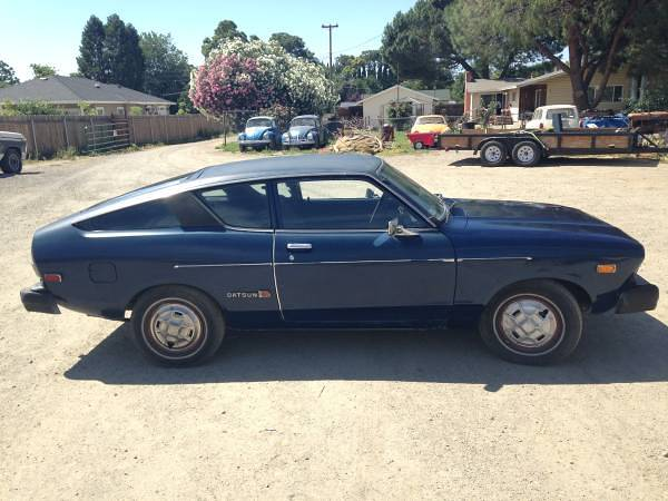 1976 Datsun B210 Hatchback Coupe For Sale in Sutter ...
