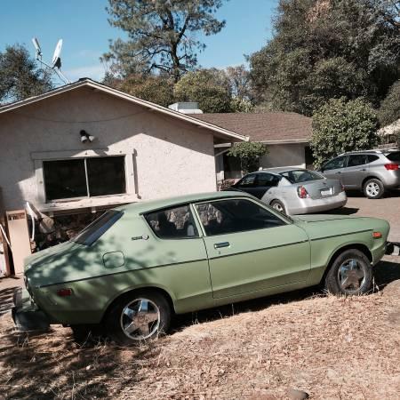 1978 datsun b210 hatchback coupe for sale in redding california. Black Bedroom Furniture Sets. Home Design Ideas