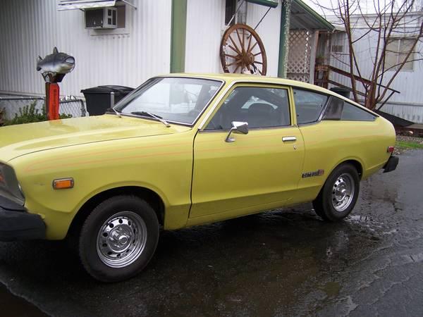 1977 datsun b210 hatchback for sale in redding california. Black Bedroom Furniture Sets. Home Design Ideas