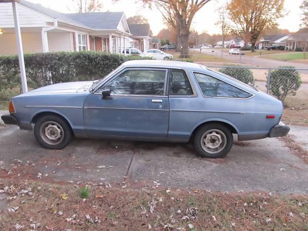 1980 Datsun B210 2 Door Hatchback For Sale In North Mississippi