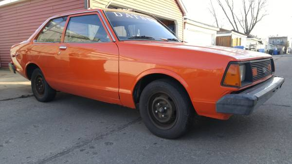 1980 Datsun B210 2 Door Coupe For Sale in Chicago, Illinois