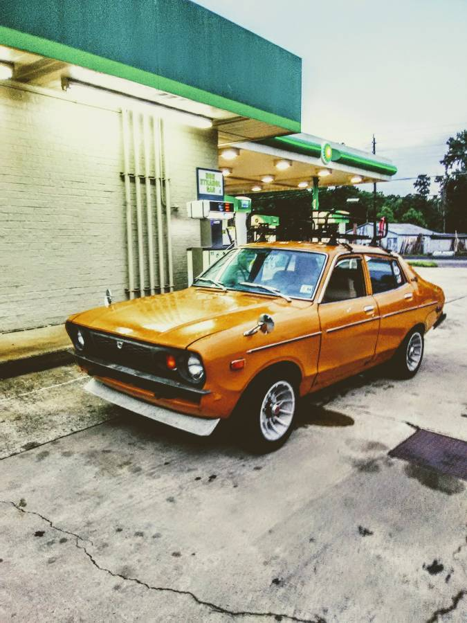 How Long Does A Rebuilt Transmission Last >> 1974 Datsun B210 A13 Three-Speed Auto 4 Door For Sale in ...