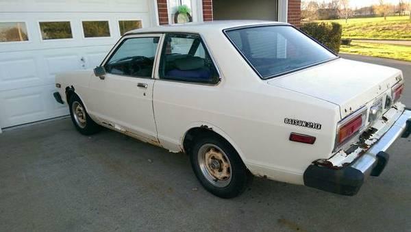 1980 Datsun B210 2 Door Sedan For Sale in Hendersonville ...