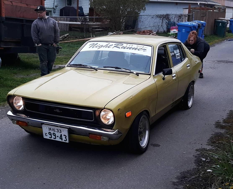 1976 Datsun B210 Four Door Sedan For Sale in Kent, Washington