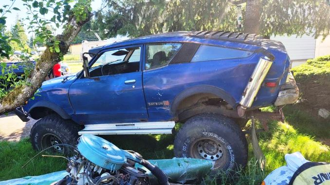 1975 Datsun B210 Hatchback Coupe For Sale in Kent, WA